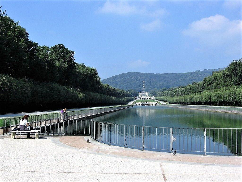 la sezione del parco dove passa il Ponte di Ercole