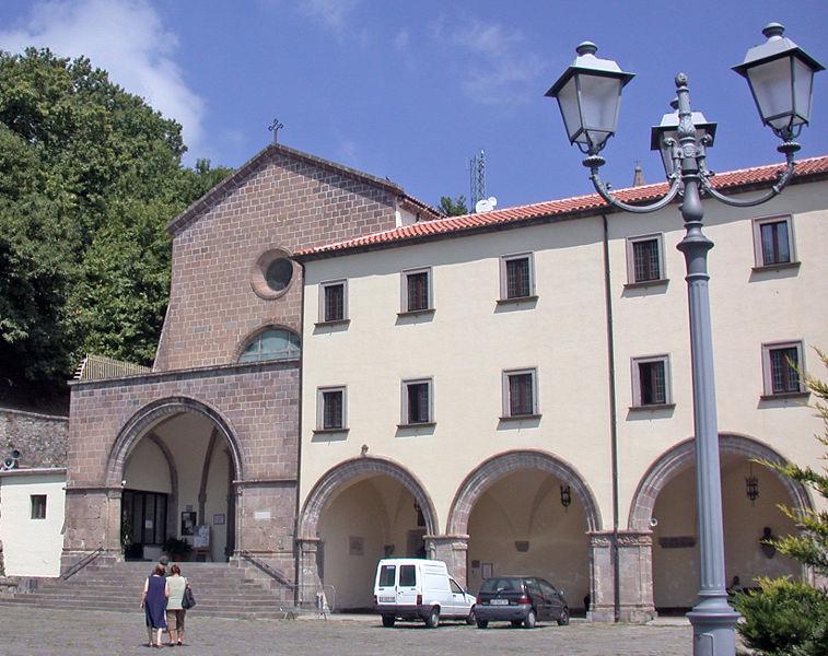 Convento e chiesa del Santuario dei Lattani