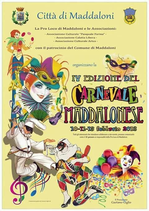 Locandina del CarnevaleMaddalonese