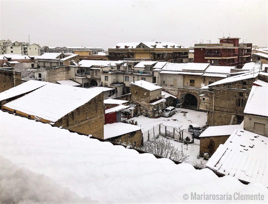 neve a San Nicola La Strada