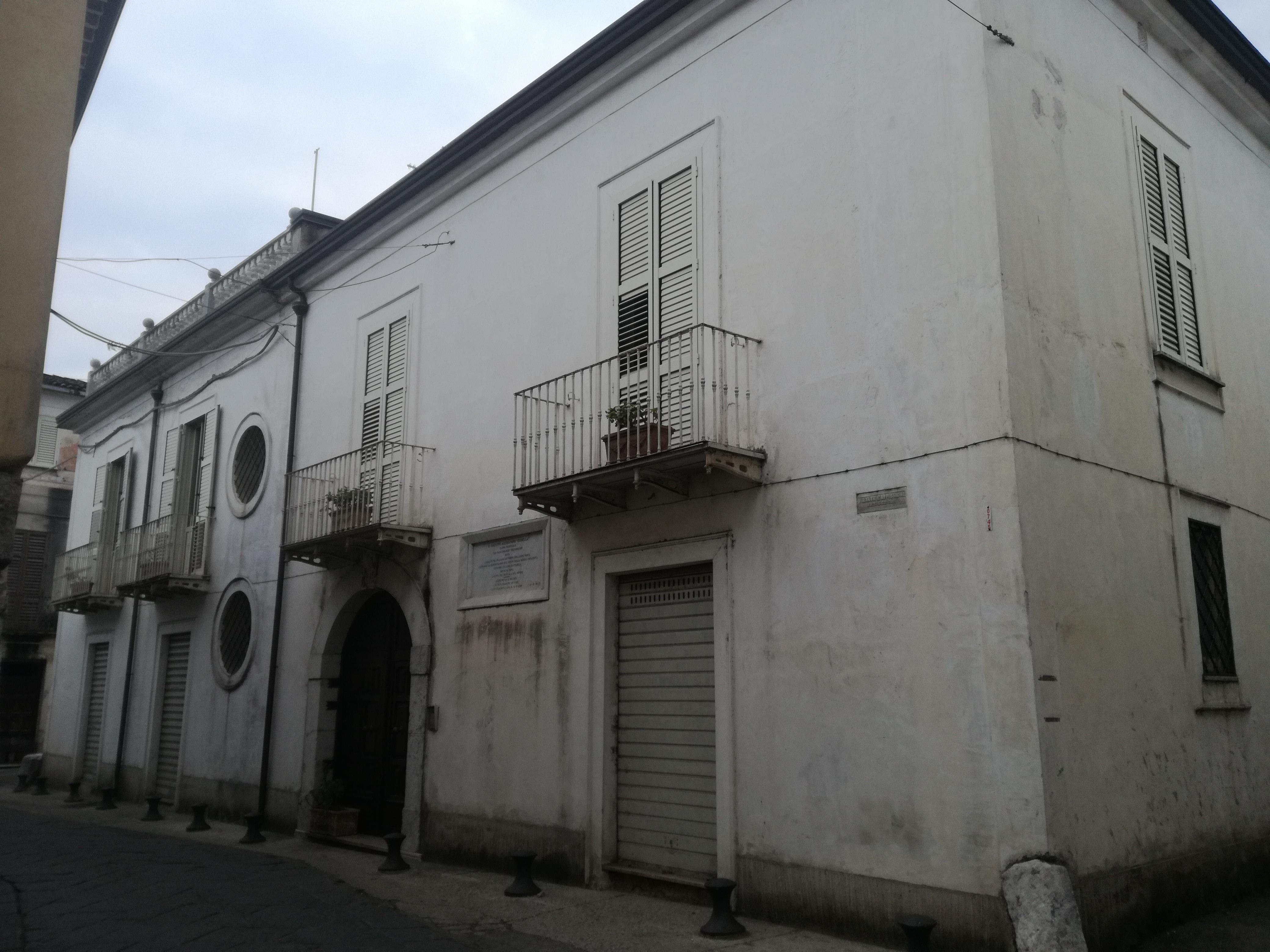 La casa d'origine di Alessandro Vessella