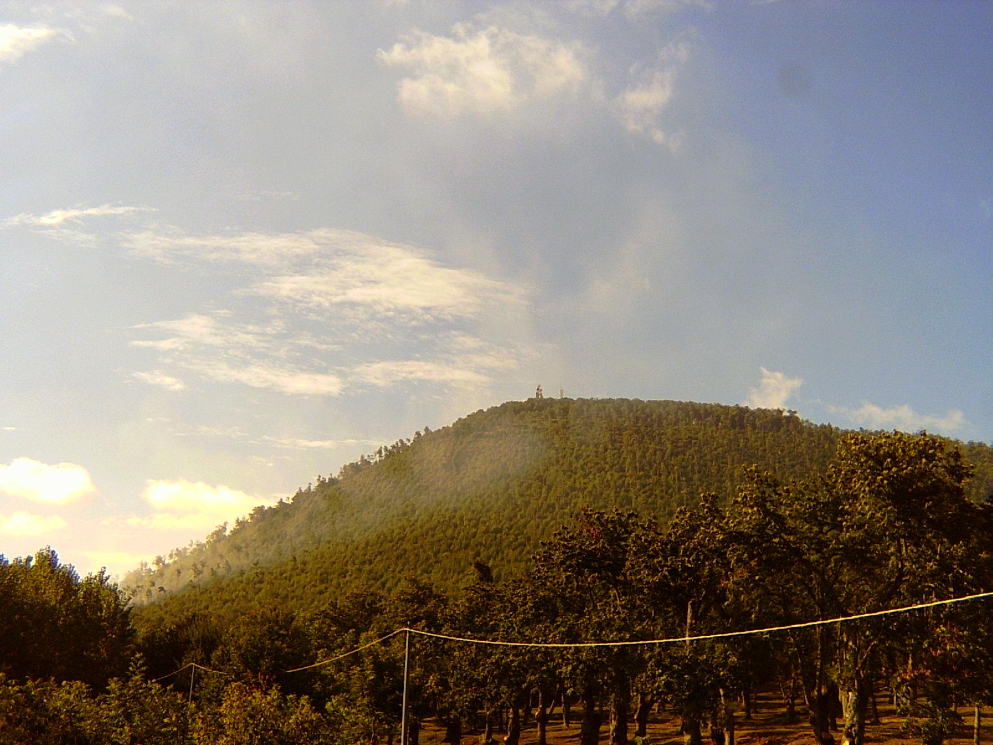 Veduta del vulcano di Roccamonfina
