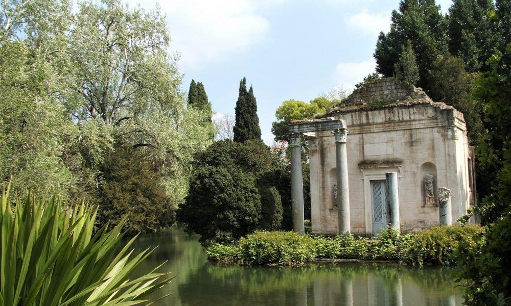 il giardino inglese della reggia di caserta