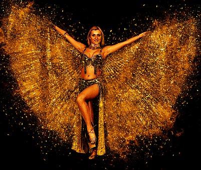 Ballerina di danza del ventre