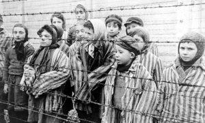 Bambini ebrei deportati ad Auschwitz