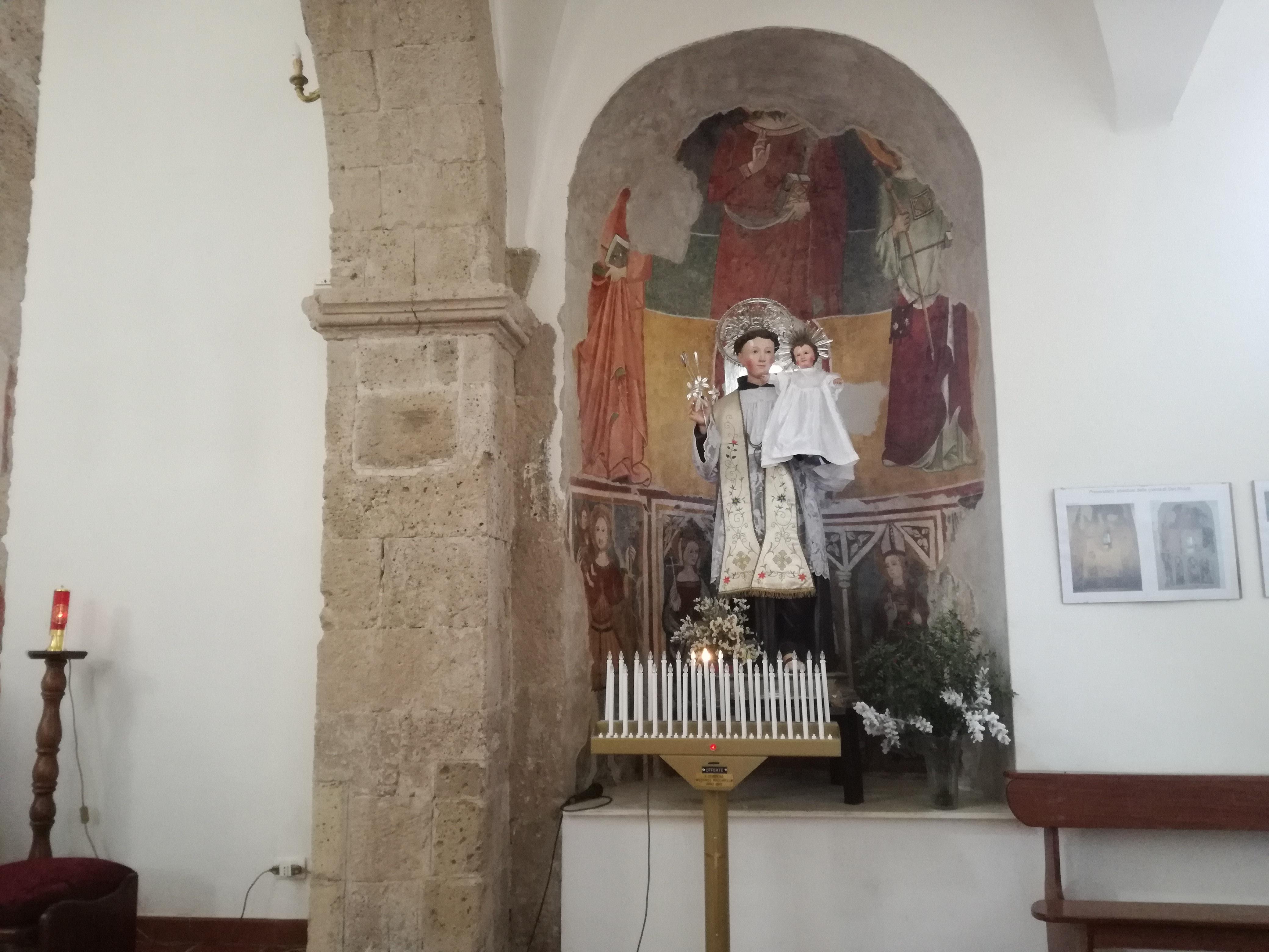 affresco della chiesa di San Nicola