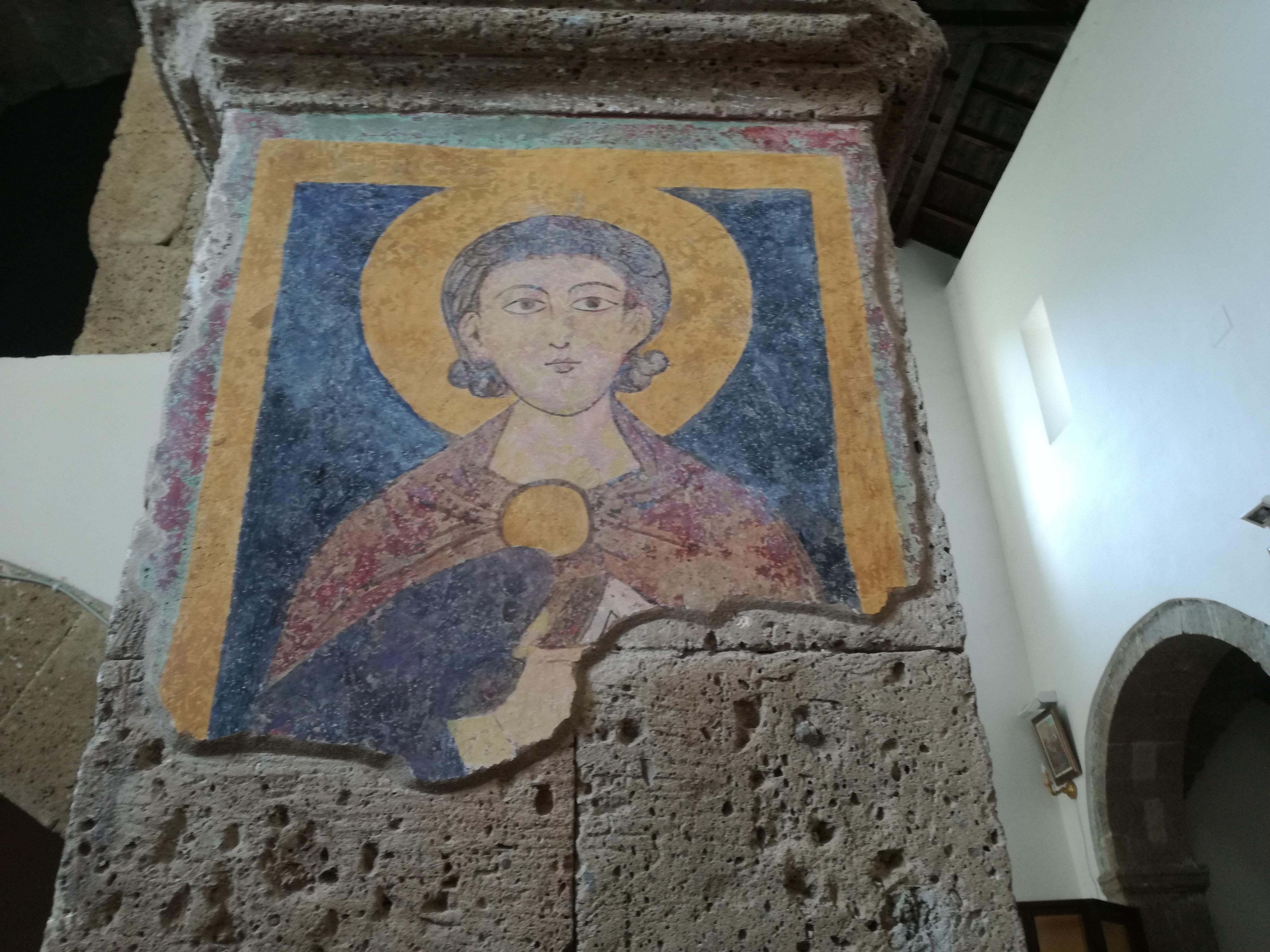 Affresco della chiesa di San Nicola a Presenzano