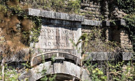la sezione di moiano dell'acquedotto carolino
