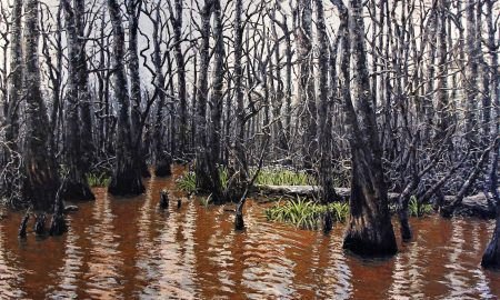 The Deep, 2006, oil on canvas, 78 x 104 inches