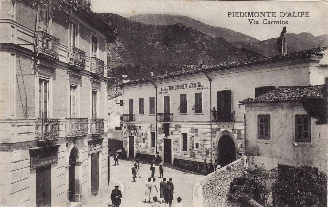 Cotonificio nel 1925
