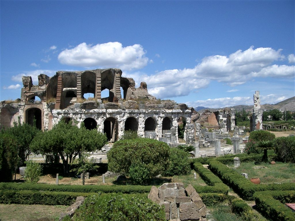 l'anfiteatro di Santa Maria Capua Vetere