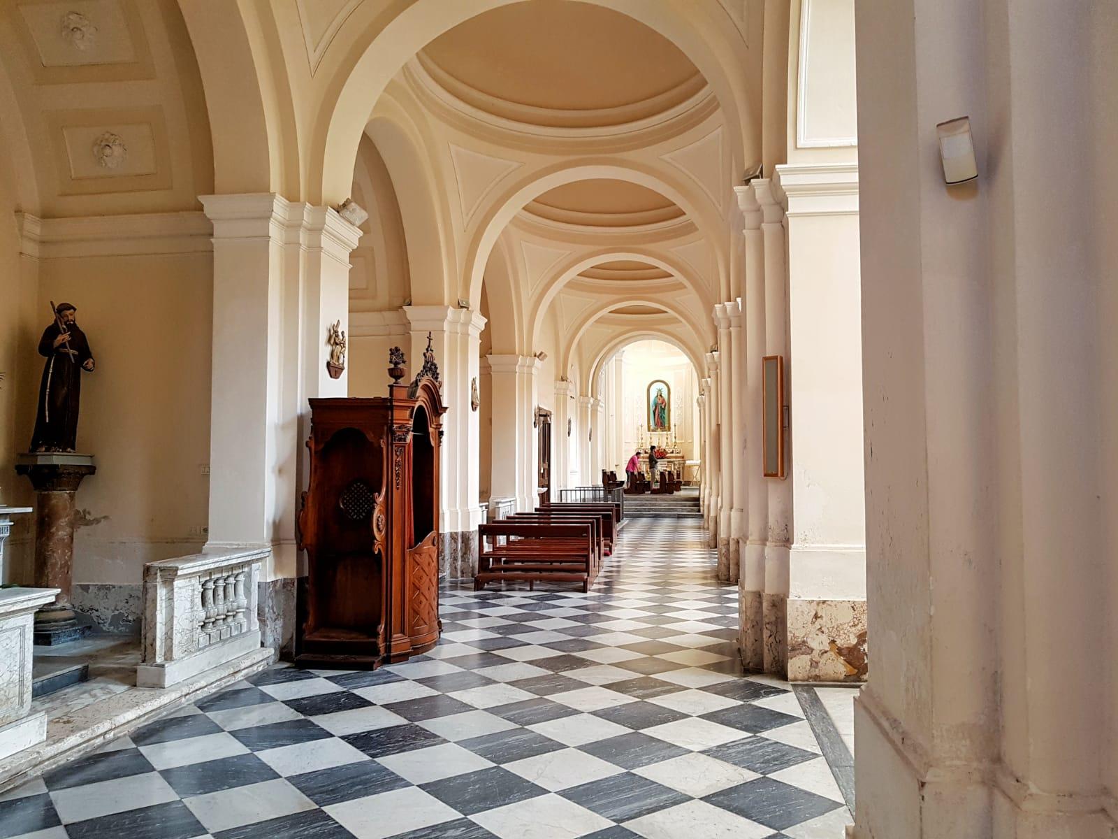 Cattedrale di Alife Interno