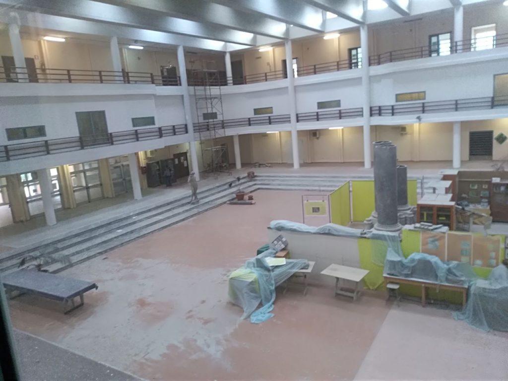 l'interno dell'istituto