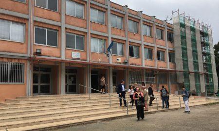 la facciata dell'istituto