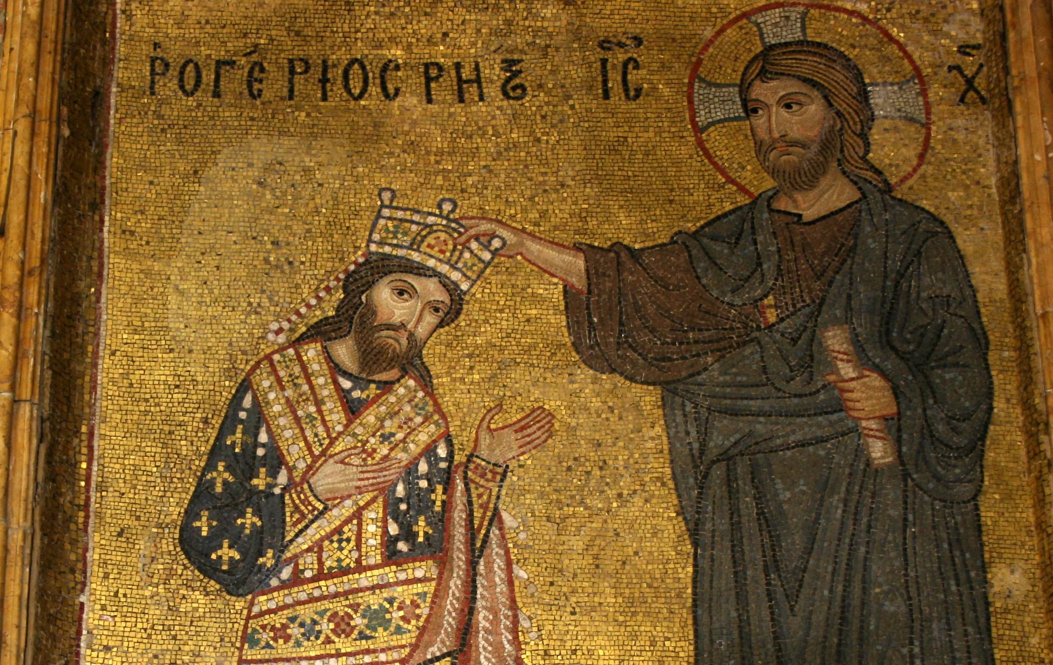 Ruggero d'Altavilla viene incoronato re