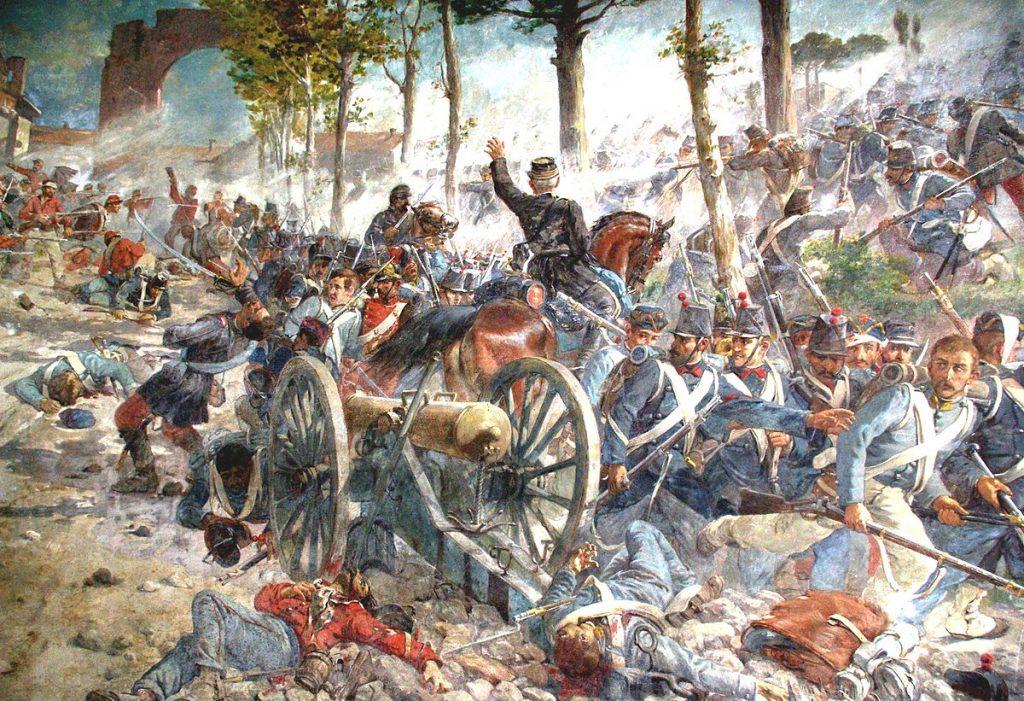 A Caiazzo si consumarono diverse battaglie del Risorgimento