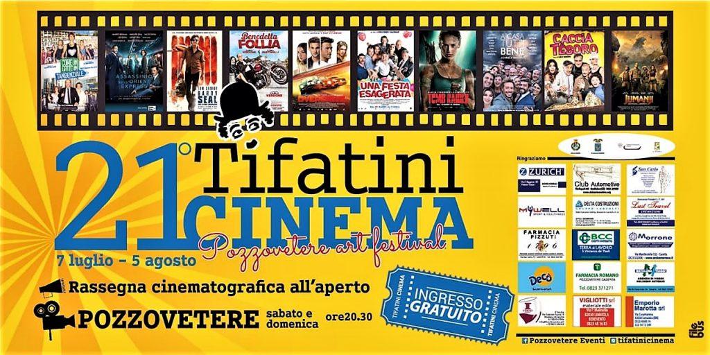 Tifatini Cinema All'aperto: la programmazione