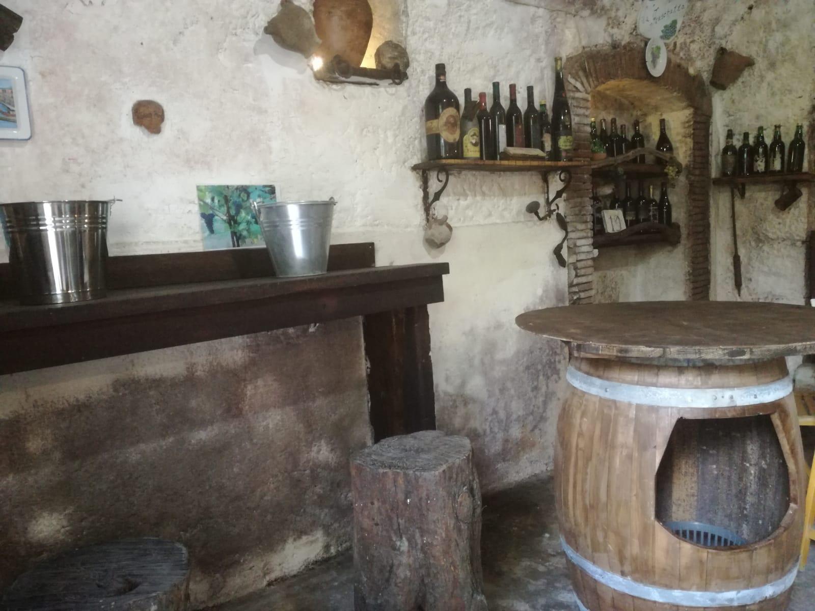 degustazione vini nelle cantine di Vairano Patenora