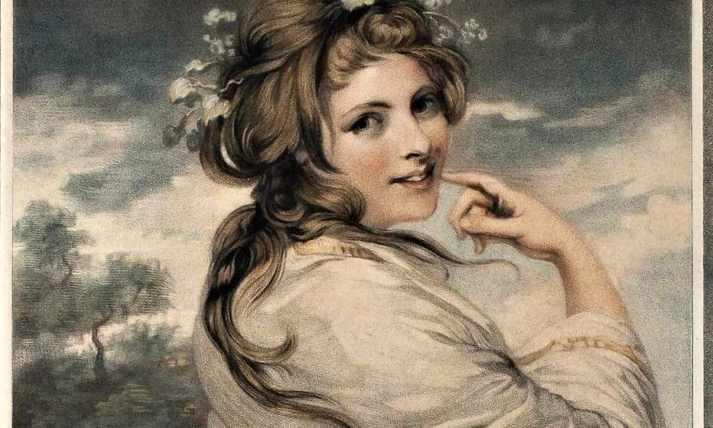 Bildnis der Emma, lady Hamilton - Joshua Reynolds