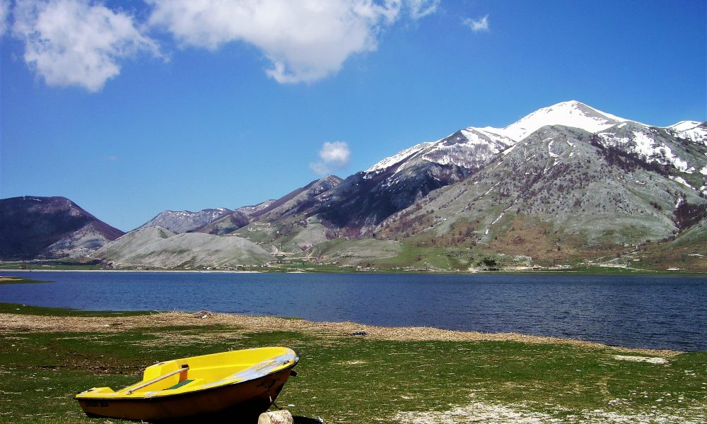 panoramica del Lago Del Matese