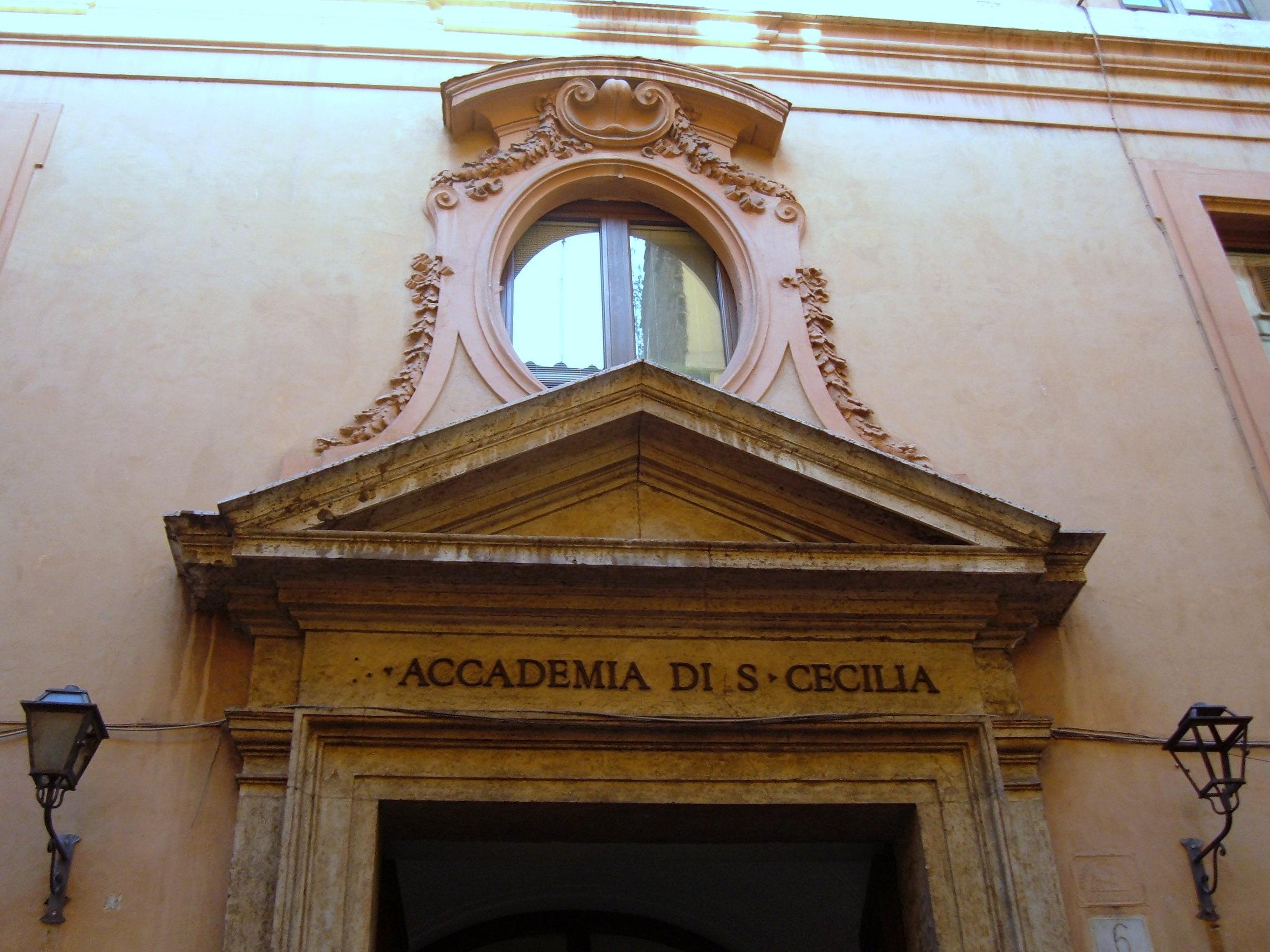 Accademia di Santa Cecilia, a Roma