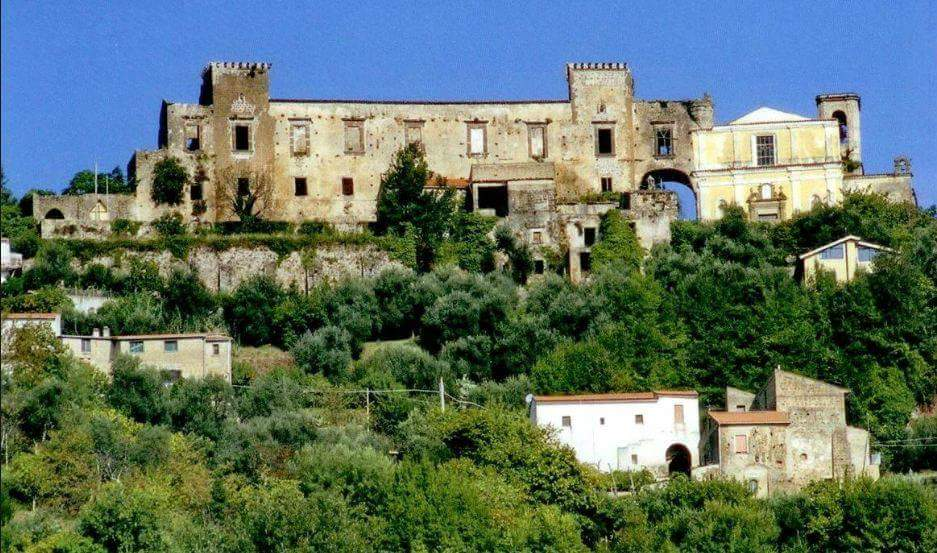 sfondo della sagra castagna di Marzano Appio
