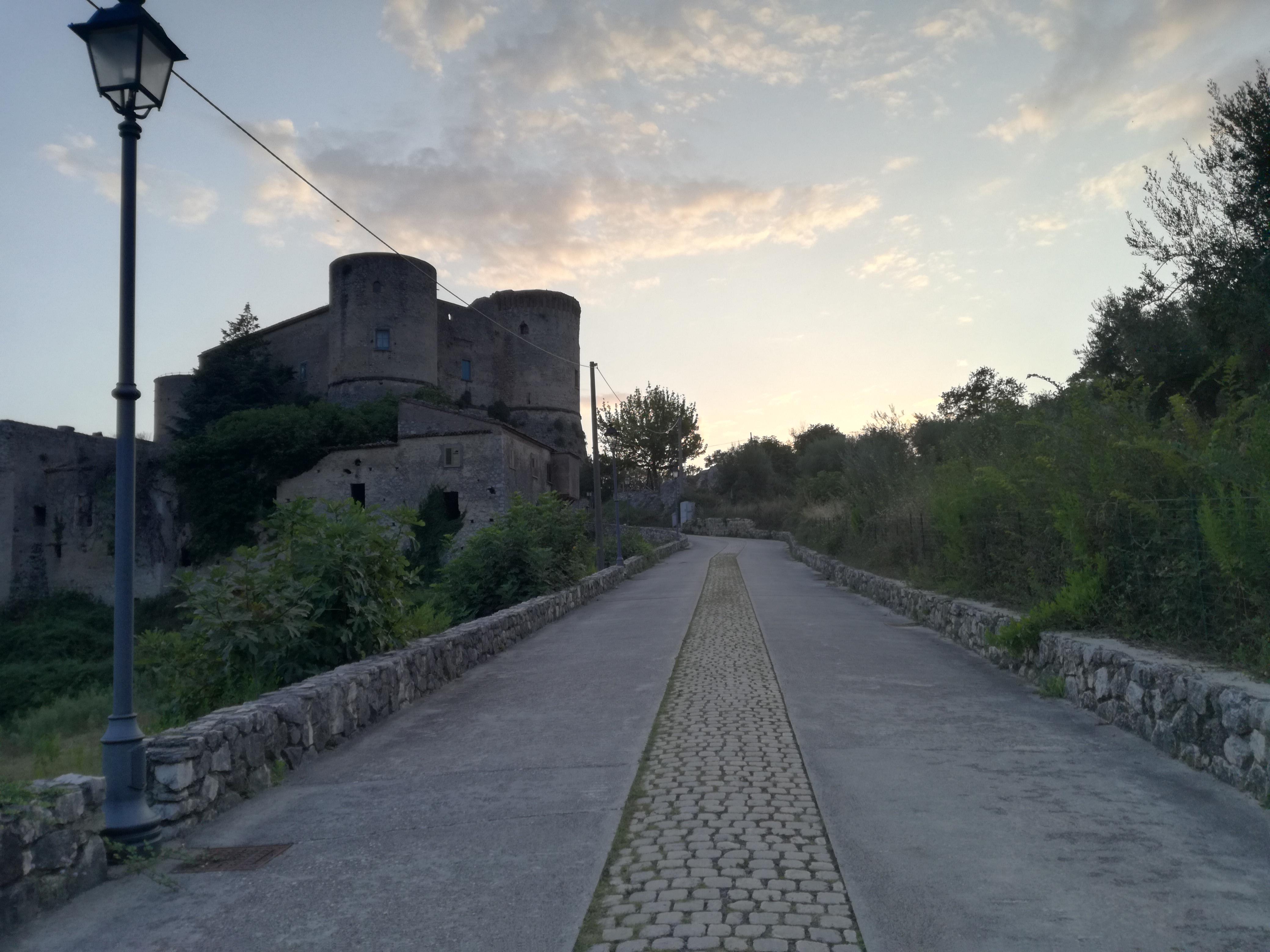 una visita al castello Prata