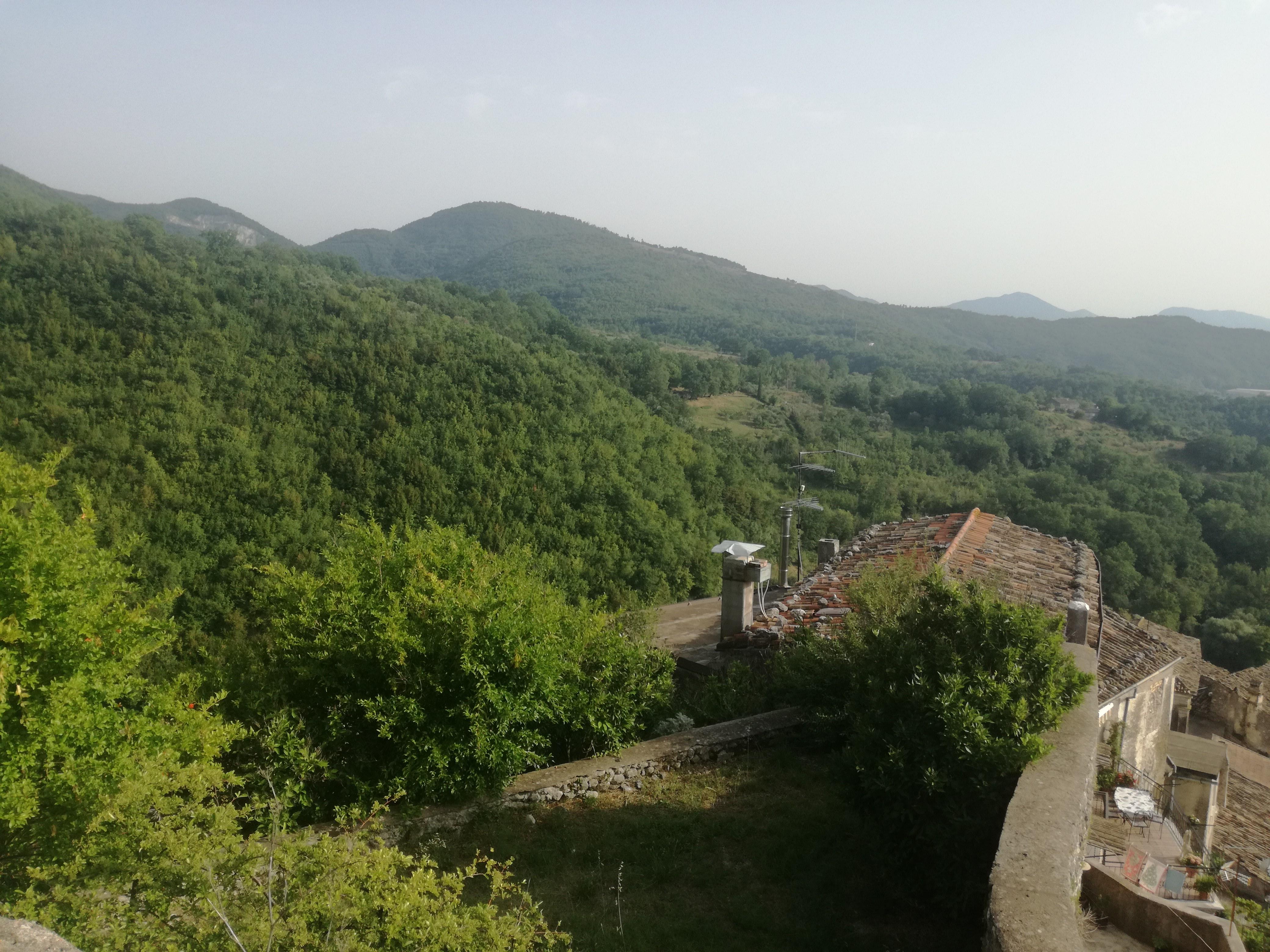 visita panorama castello di Prata