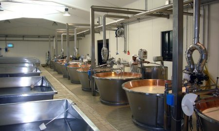 produzione del formaggio