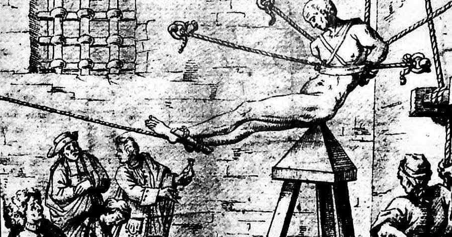 la tortura della Culla di Giuda