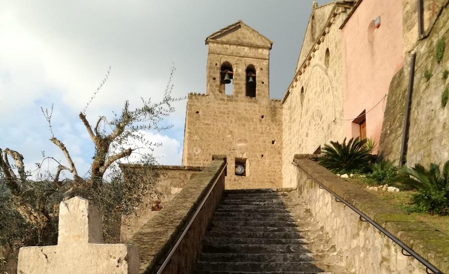 San Rufo Scalinata