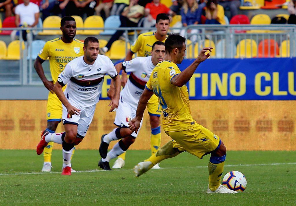 Frosinone Calcio V Genoa Cfc Serie A