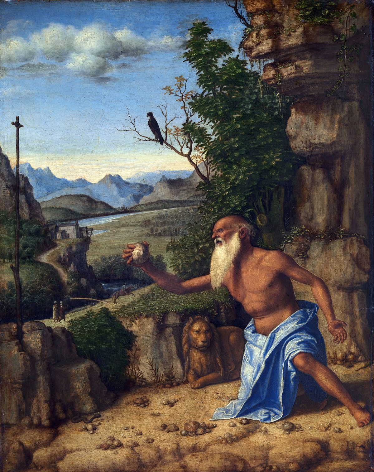 Il martirio di San Girolamo, Cima Da Conegliano