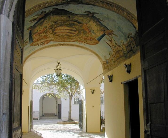 Ingresso Museo archeologico dell'antica Calatia