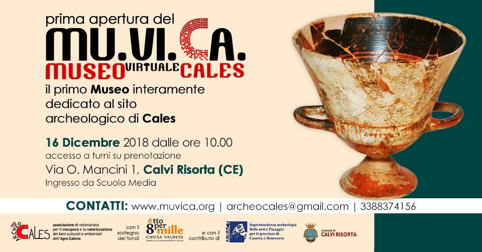 Locandina Museo Virtuale Cales