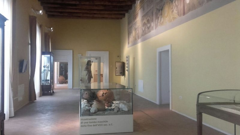 Sala Museo archeologico dell'antica Calatia