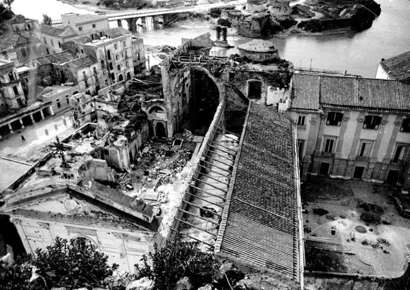 Carlo Santagata - i bombardamenti di Capua