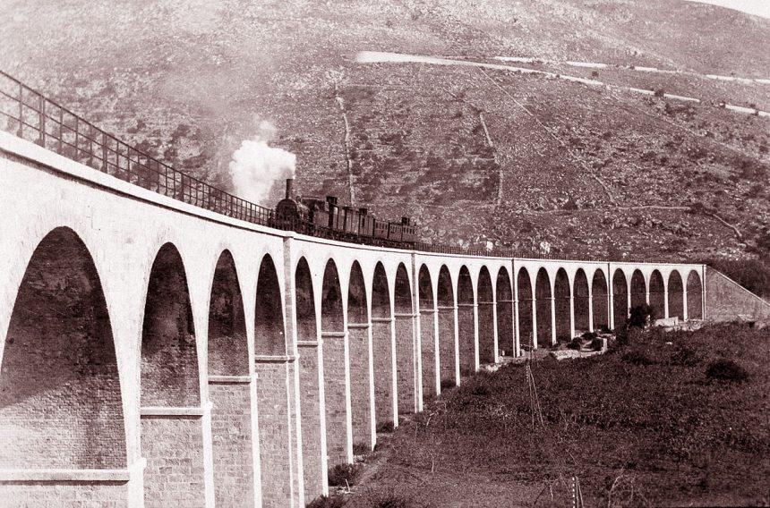 Le 25 arcate della Ferrovia Sparanise - Gaeta