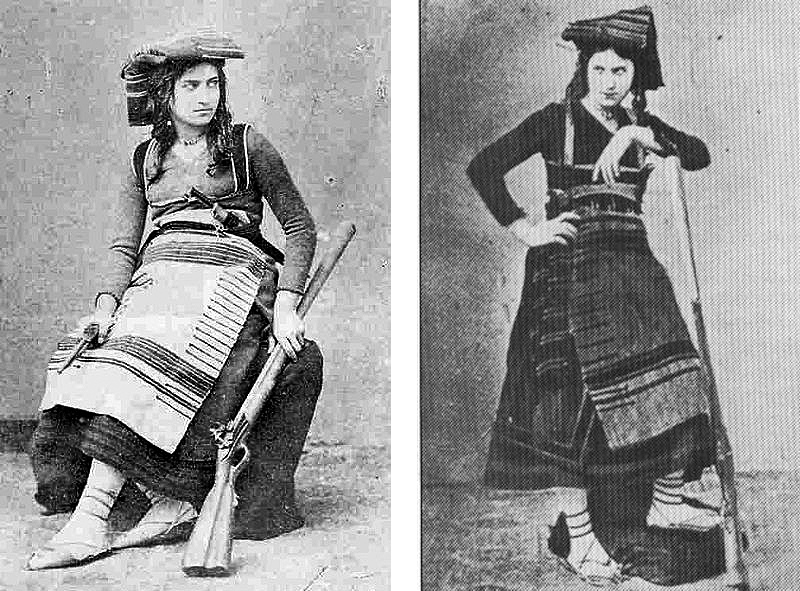 brigantessa Michelina De Cesare, le foto della donna armata