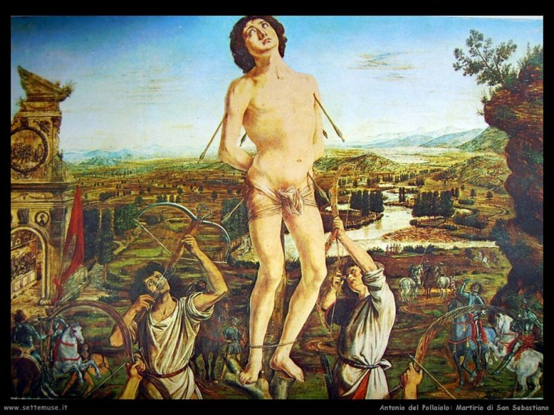 San Sebastiano Dipinto