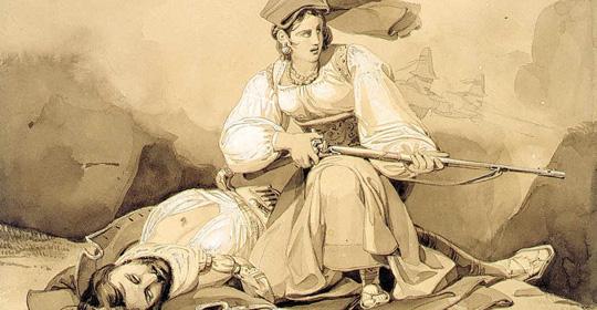 brigantessa Michelina De Cesare, l'uccisione di un soldato