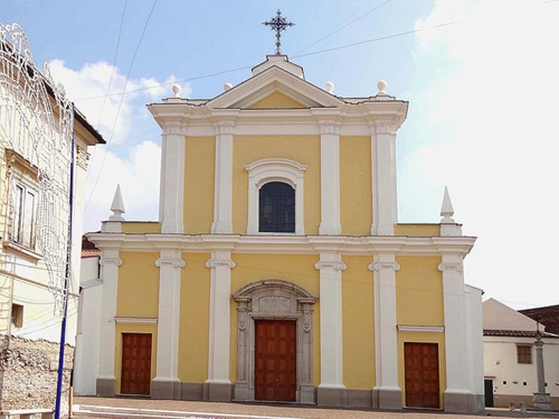 Festa di Santa Matrona di San Prisco - Facciata della Chiesa di Santa Matrona