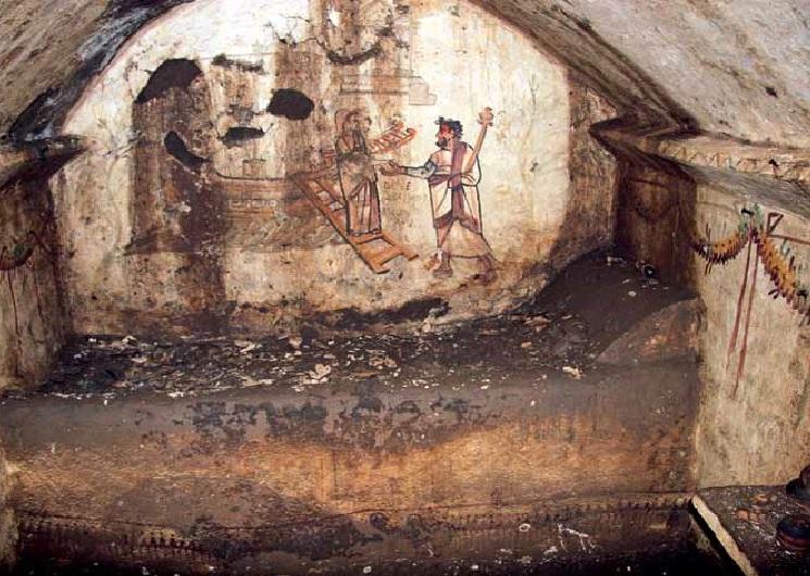 oli e profumi antica capua - luogo di uno dei ritrovamenti