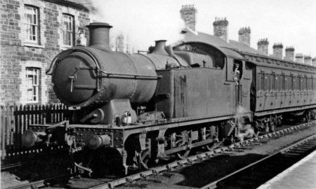 Un treno antico, come quelli della Ferrovia Sparanise Gaeta