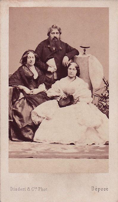 Carlo I Penelope Smyth - i due insieme alla figlia Vittoria