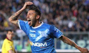 Ciccio Tavano - foto durante i festeggiamenti per un gol