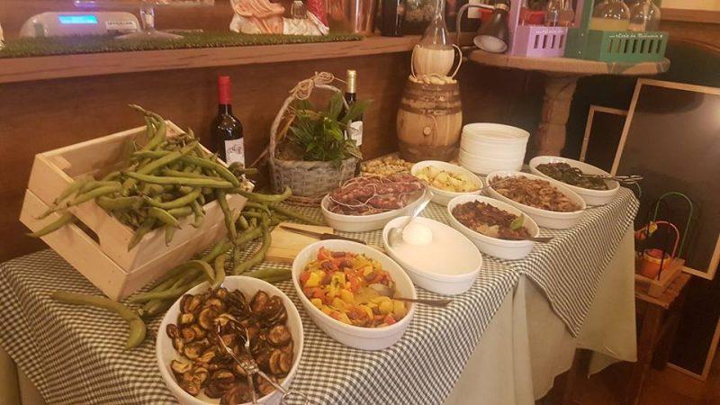 Osteria Da Miduccia - piatti e buffet