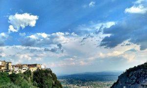 Castello Del Matese - panorama dalla terrazza