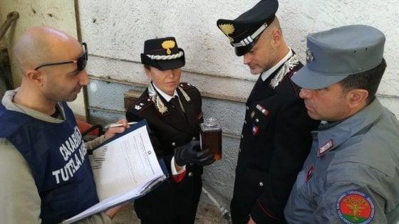 Arsenico Saint Gobain - i militari impegnati nell'indagine