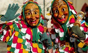 Carnevale capua - due maschere